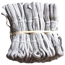 Резинка бельевая ЗИГЗАГ  Белая  синтетическая длина 10 метров