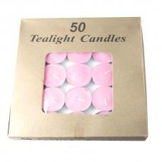 Свечи парофиновые в металлическом корпусе( 50шт упак.)