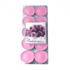 Свечи араматизированные  в металлическом корпусе( 10шт упак.)