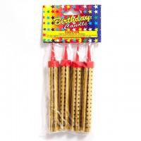 Свечи - Фейерверки 10 см (4шт)