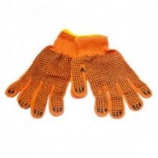 Перчатка оранжевая  Х/Б (450-550гр) Д