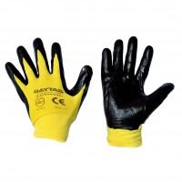 Перчатка BAYTAS стрейчевая с нитриловым покрытием