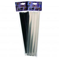Клеевые стержни  Фиксатор Черные  (  Ф-11.2 длина 200мм 4шт )