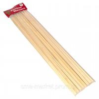 Шампуры бамбуковый  для шашлыка  40 см  тощина  1см