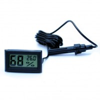 Электронный термометр и гигрометр с выносным датчиком