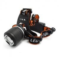 Налобный фонарь MX 24 T6 светодиодный аккумуляторный Led Headlight