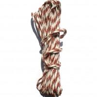 Шнур жёсткий в оплетке диаметром 5мм длина 20м