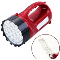 Переносной фонарь ASK 2820 ( 19 + 15 LED ) ручной аккумуляторный ТМ АСК
