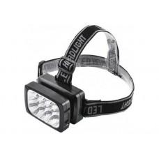 Налобный фонарь ASK 1837 (12 LED ) аккумуляторный светодиодный  ТМ АСК