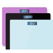 Напольные Весы 1134  Однотонные  (28 см * 28 см ) электронные до 180 кг с датчиком температуры
