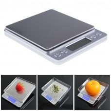 Весы бытовые I-2000    Высокоточные ювелирные весы точность 0,1г. До 3 кг