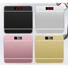 Напольные Весы  SQ 1145  ( 28 см * 28 см )  электронные до 180 кг с датчиком температуры