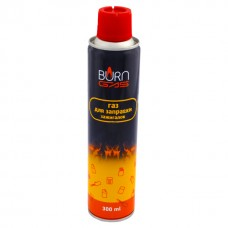 Газ для зажигалок глобус BURN  300 мл