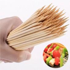 Шампуры бамбуковые ( Шпажки )   ф - 4 мм 35 см (50шт)
