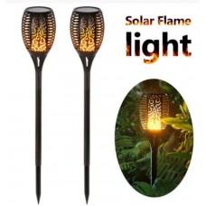 Садовый светильник 33 LED  на солнечной батарее Факел б.