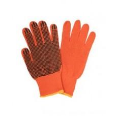 Перчатка оранжевая  Х/Б (sungboo) польша