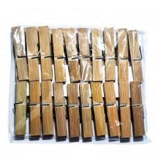 Прищепка Бамбуковая (1*20 малая) в полиэтиленовой упаковке