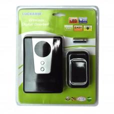 Беспроводной цыфровой дверной звонок  (на батарейках)