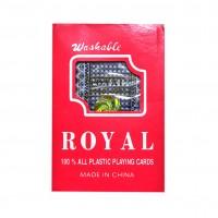 Карты игральные пластиковые ROYAL  56 карт