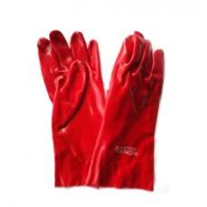Перчатка залитая пвх (масло бензо стойкая) на рукав ( без манжета )
