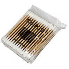 Ушные ватные палочки ( ухочистки ) бамбуковые  100 шт
