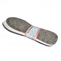Стелька для обуви Шерсть на картоне  размеры с 36 - 46