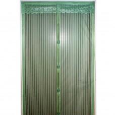 Дверная антимоскитная сетка на магнитах  100*210 см  Цвет Микс (Однотонные) 822