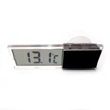 Термометр Электронный К-036 крепление липучка + присоска  оконный комнатный