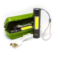 Фонарь USB BL 510 аккумуляторный POLICE