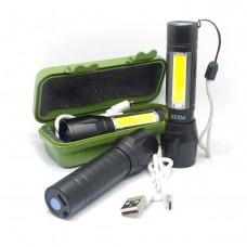 BL-509 ( ZOOM )  Фонарь аккумуляторный USB