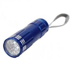 Фонарик светодиодный карманный ручной арт  907  9 LED металл