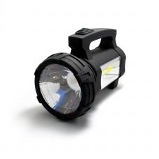 Ручной аккумуляторный фонарь SS - 5918 COB  LED 1W и 3W