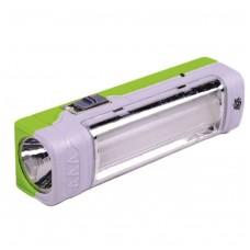 Аккумуляторный фонарь ASK-1029 ( 1W+9SMD ) ТМ АСК