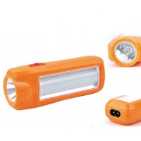 Аккумуляторный фонарь ASK 1027 ( 1W+9SMD ) ТМ АСК